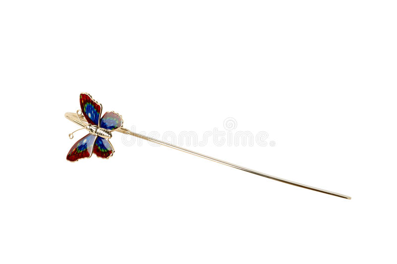 Download Butterfly bookmark stock image. Image of bookmark, metal - 25890173