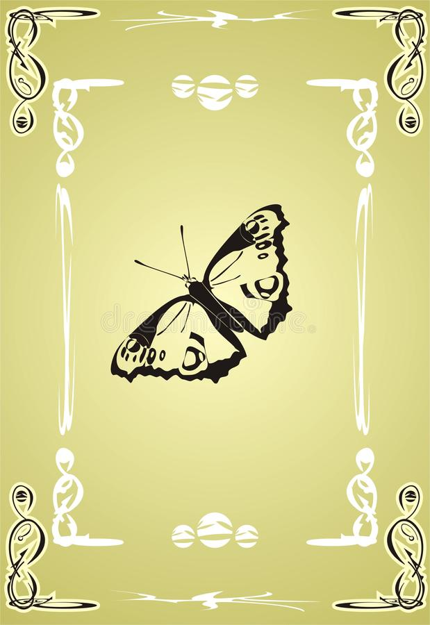 Butterfly. Creative royalty free stock images