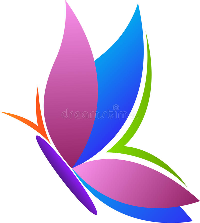 Butterfly design. A vector drawing represents butterfly design vector illustration