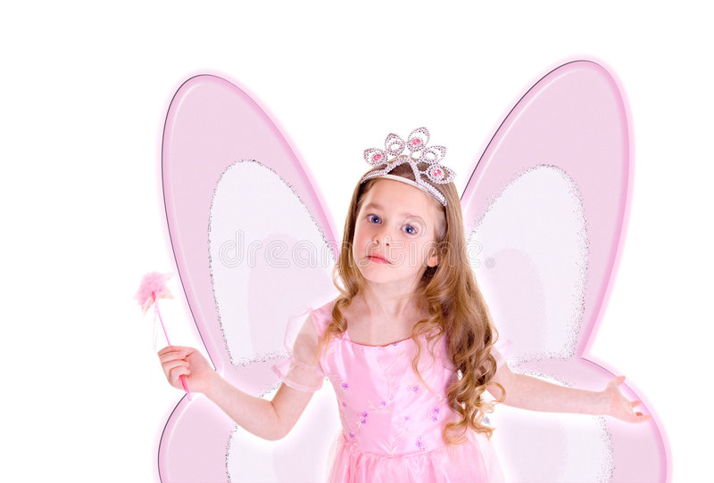 Butterfly Fairy Stock Photography