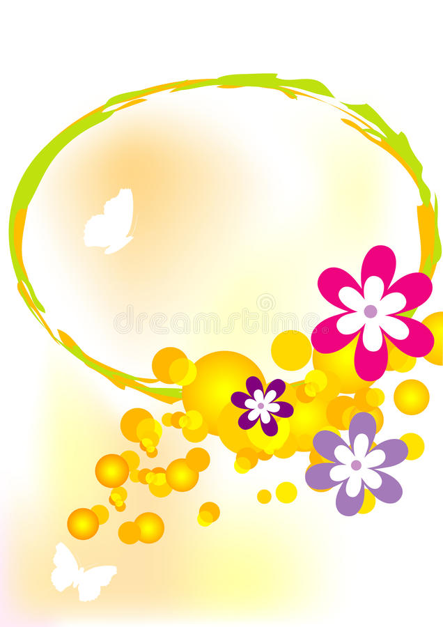 Download Butterfly and flower stock vector. Illustration of clean - 18925178