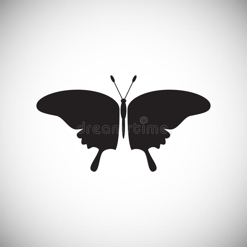 Butterfly icon on white background for graphic and web design, Modern simple vector sign. Internet concept. Trendy symbol for. Website design web button or stock illustration