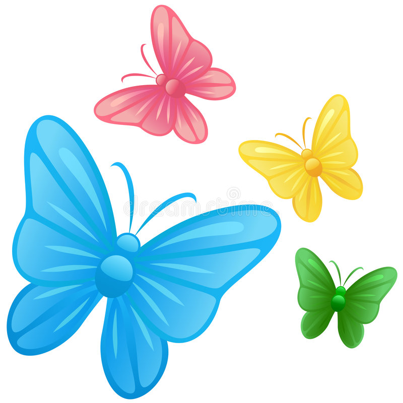 Download Butterfly Illustrations Vector Stock Vector - Image: 9259942
