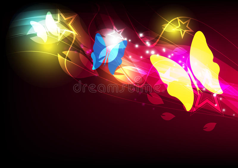 Download Butterfly layout design stock vector. Illustration of communication - 26628821