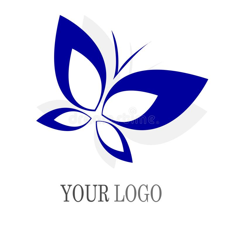 Butterfly, logo, beauty, spa, relax, yoga, lifestyle, abstract butterflies set of symbol icon vector design royalty free illustration