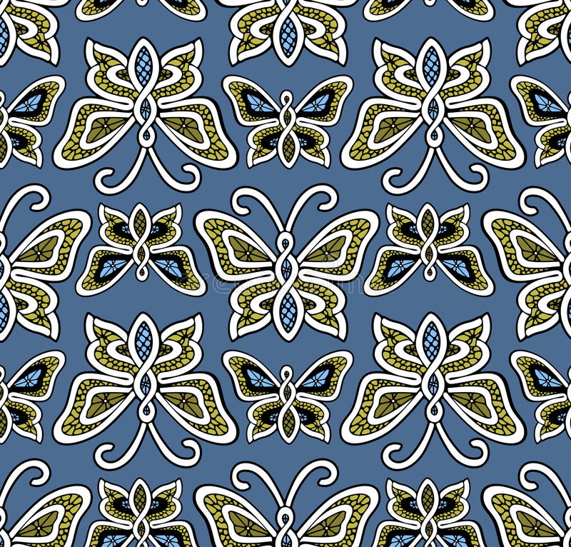 Butterfly Pattern Royalty Free Stock Photo