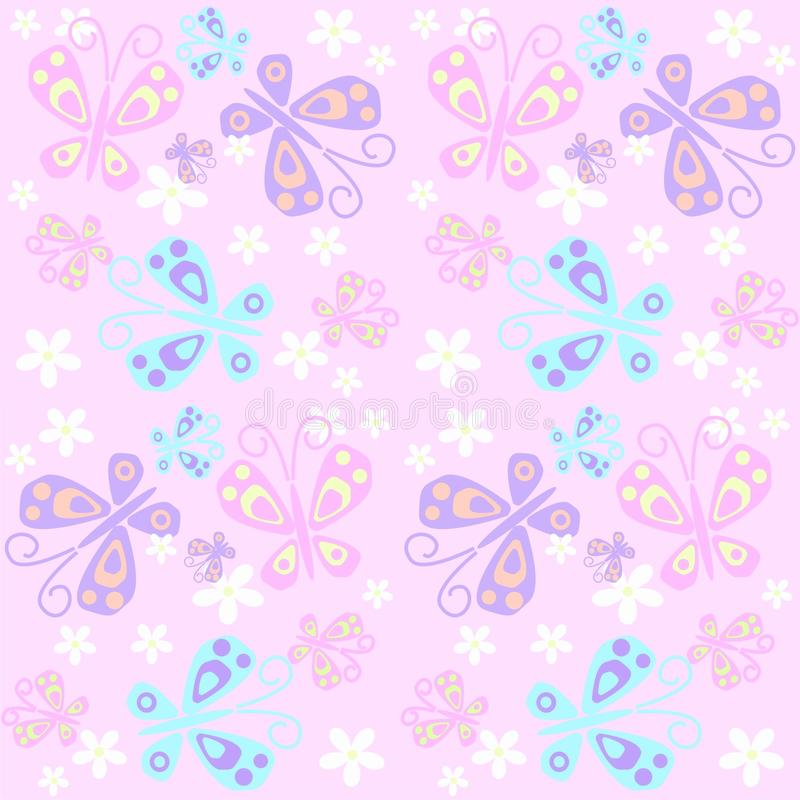 Free Butterfly Pattern Seamless Stock Photo - 14740000