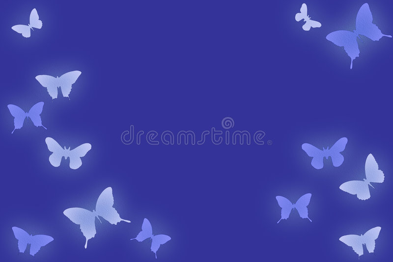 Butterfly series stock images