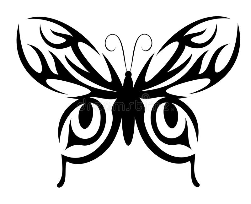 Butterfly shape royalty free stock photography