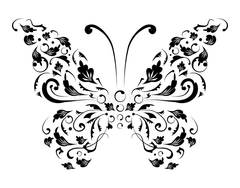 Download Butterfly Silhouette For You Design Stock Vector - Illustration of idea, insect: 7714779