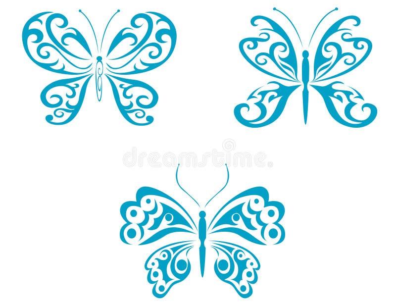 Butterfly tattoo stock photos