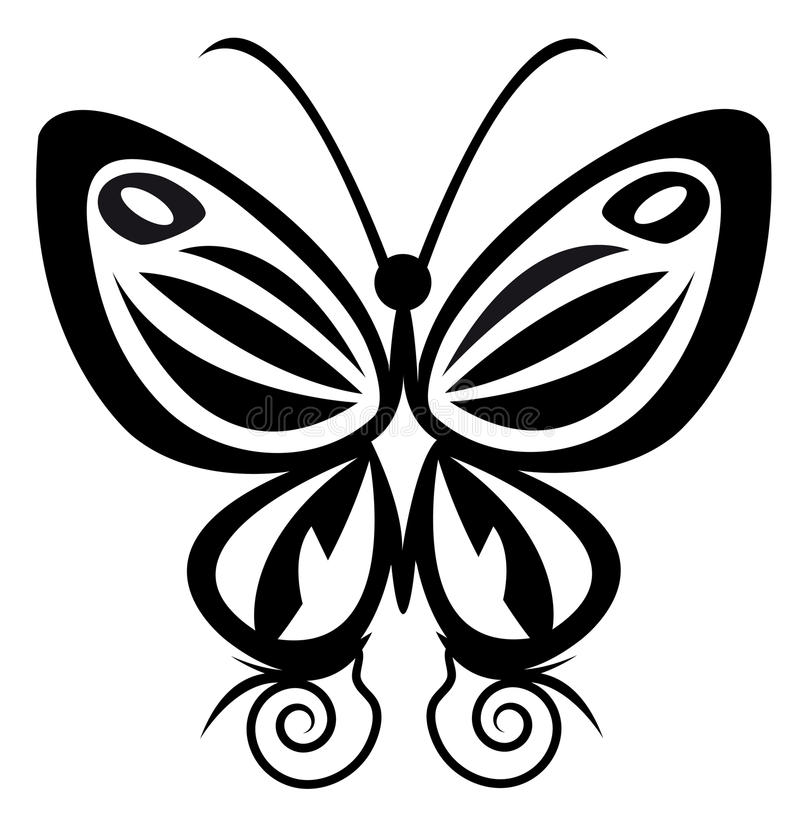 Free Butterfly Tattoo Royalty Free Stock Photos - 16705188