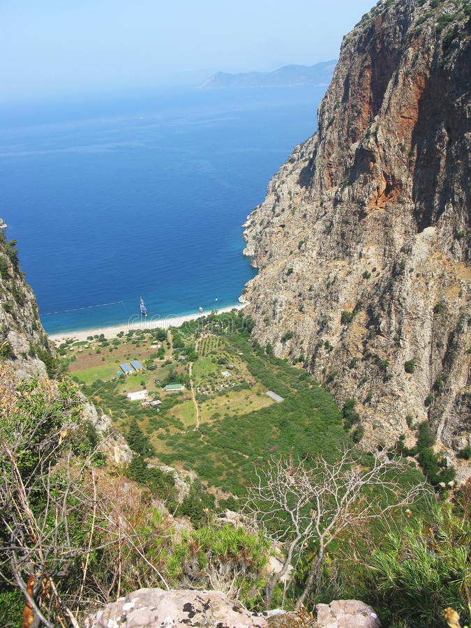 Download Butterfly Valley Deep Gorge Fethiye Turkey Stock Image - Image: 25654527
