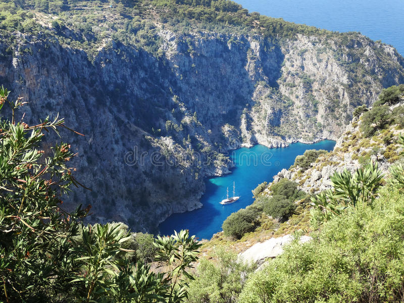 Download Butterfly Valley Deep Gorge Fethiye Turkey Stock Photo - Image: 33469756