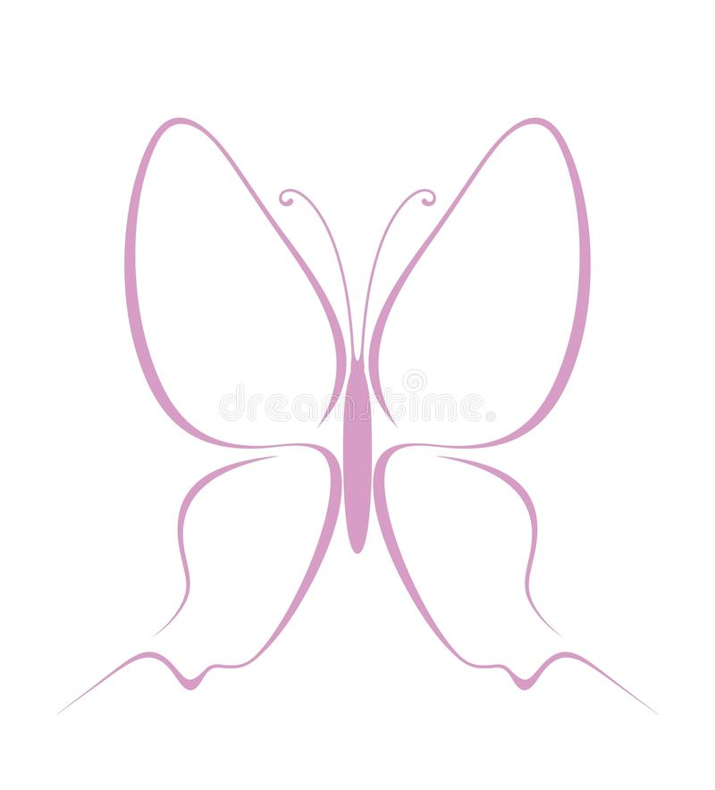 Butterfly. Vector vector illustration