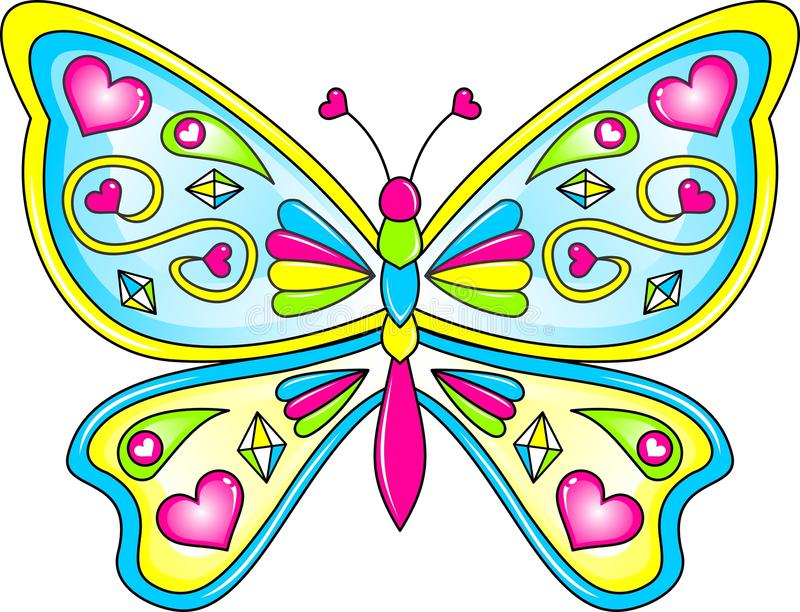 Butterfly Vector. An Illustration of a Butterfly in Vector Format vector illustration