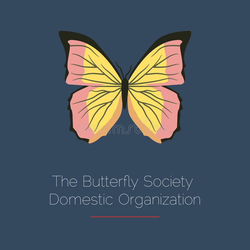 Free Butterfly Vector Logo Template. Abstract Icon. Design Element. Royalty Free Stock Photography - 96139727