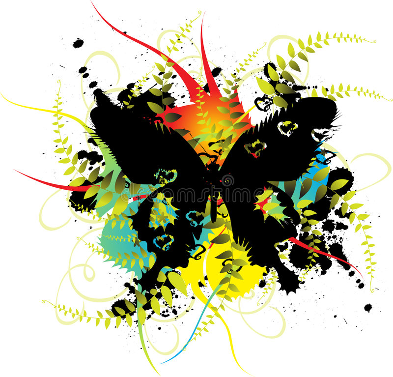 Free Butterfly2 Vector Royalty Free Stock Images - 5166749