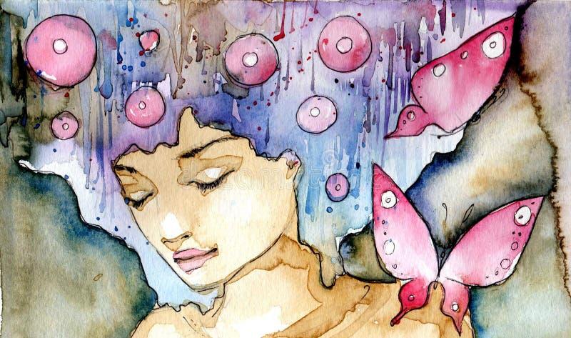 Butterflys ilustração do vetor