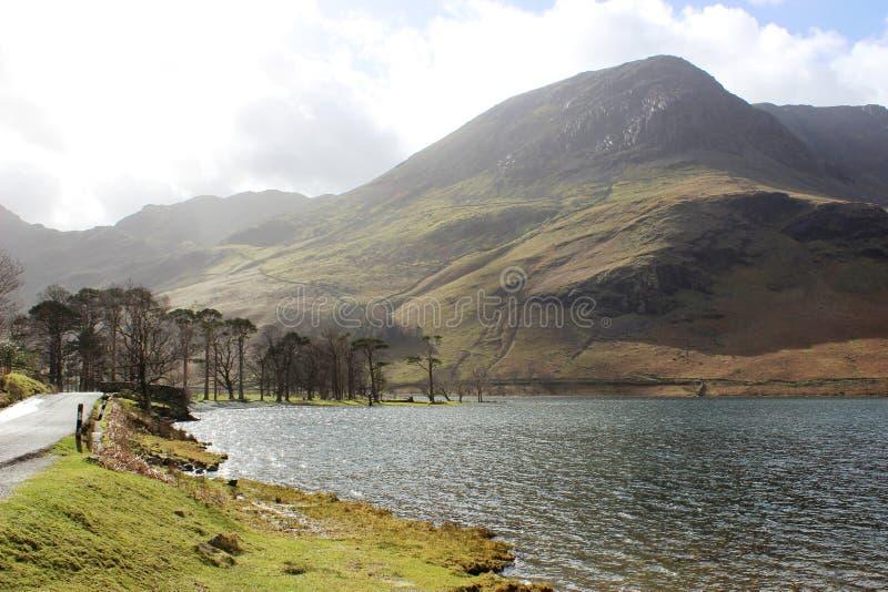 Buttermere, Haystacks, High Crag, Lake District stock images