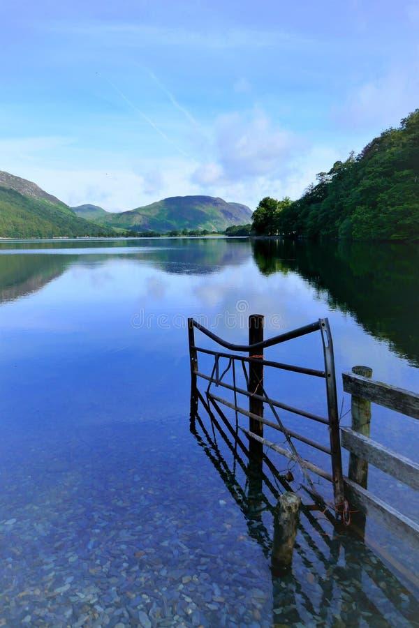 Buttermere jezioro, Cumbria, UK zdjęcie royalty free