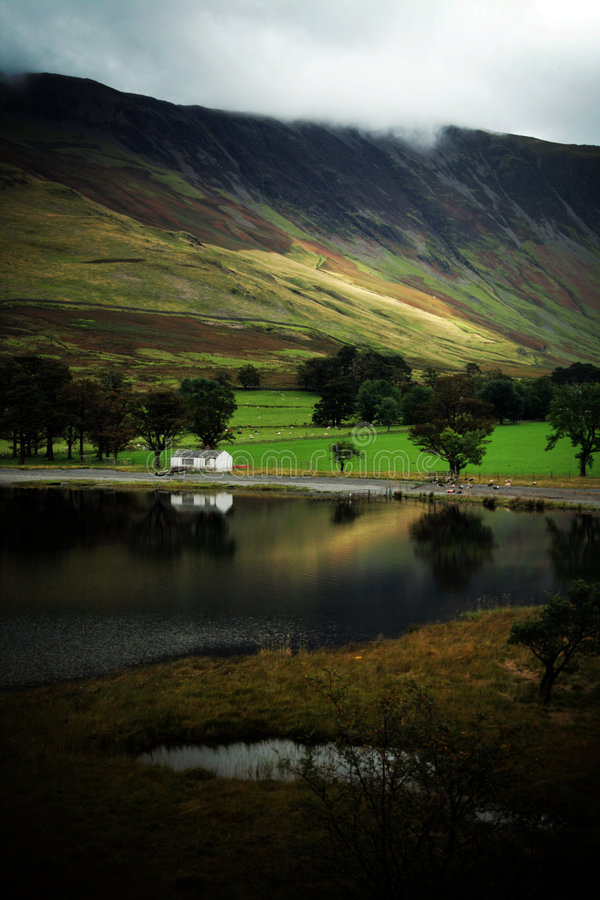 Download Buttermere Lake in Autumn stock image. Image of buttermere - 3514637