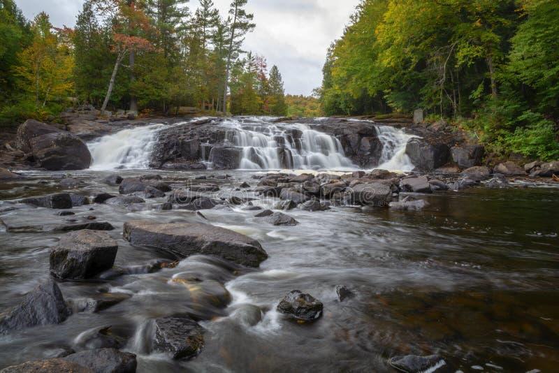 Buttermilk Falls Adirondack Park stock photography