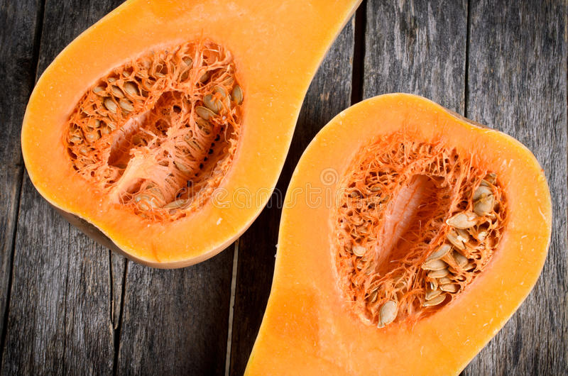 Butternut squash royalty free stock images
