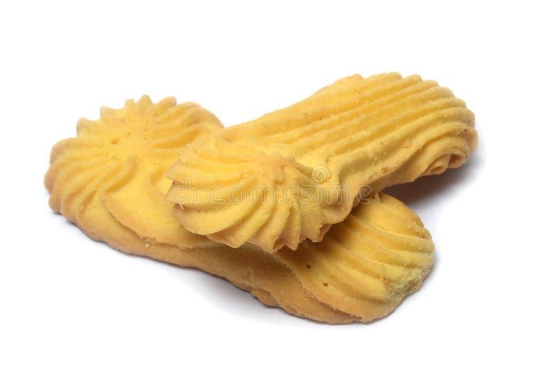 Butterplätzchen lizenzfreies stockfoto