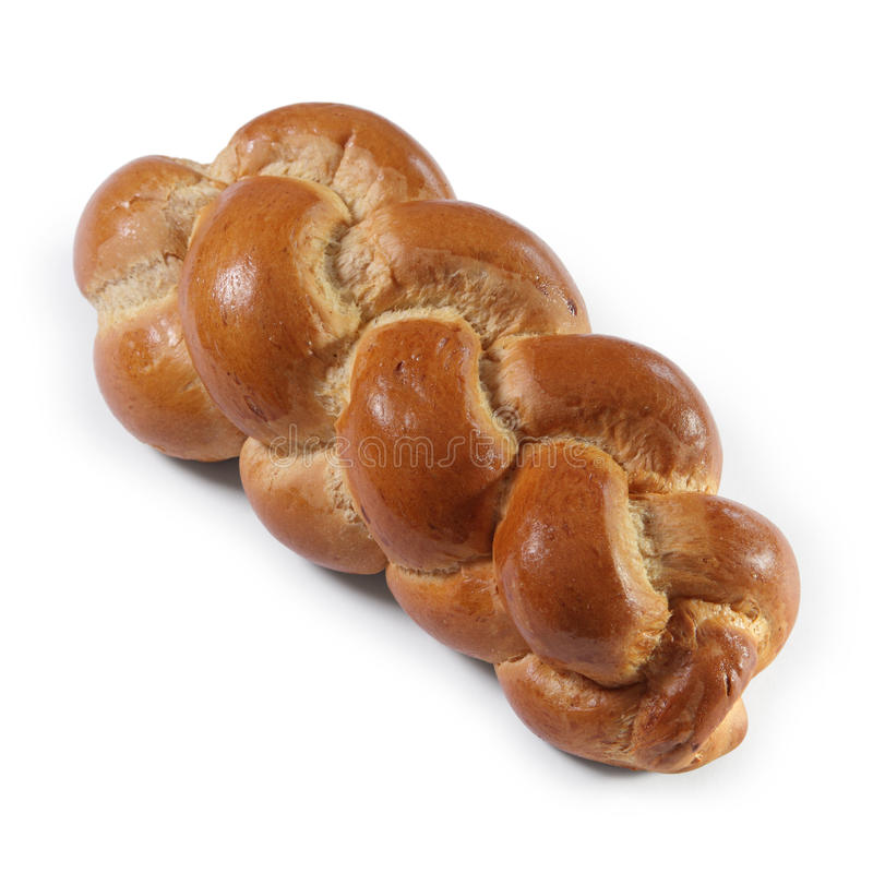 Butterzopf traditional Swiss bread stock image