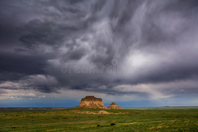 Buttes de Pawnee photos libres de droits