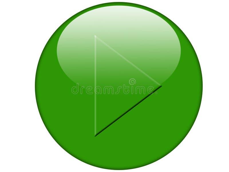 Button 008 stock illustration
