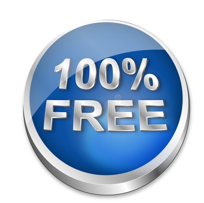 Button 100  Free Stock Photo