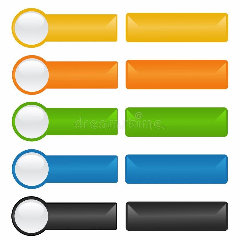 Button stock illustration