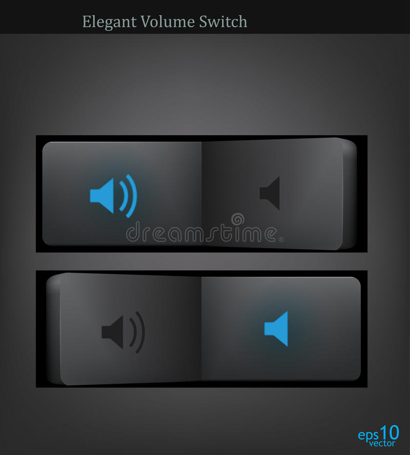 Download Button stock vector. Image of icon, audio, voice, black - 19870227