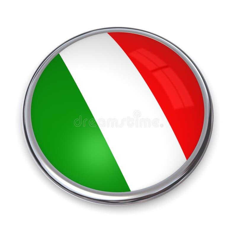 button banner Włoch ilustracja wektor