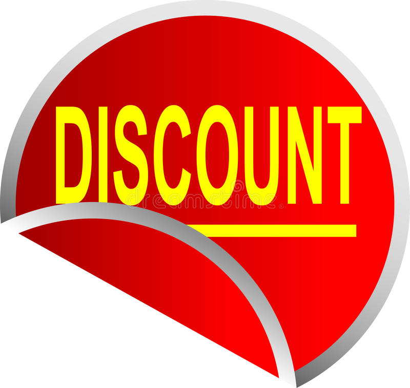 Download Button Discount stock illustration. Image of click, shop - 10058737