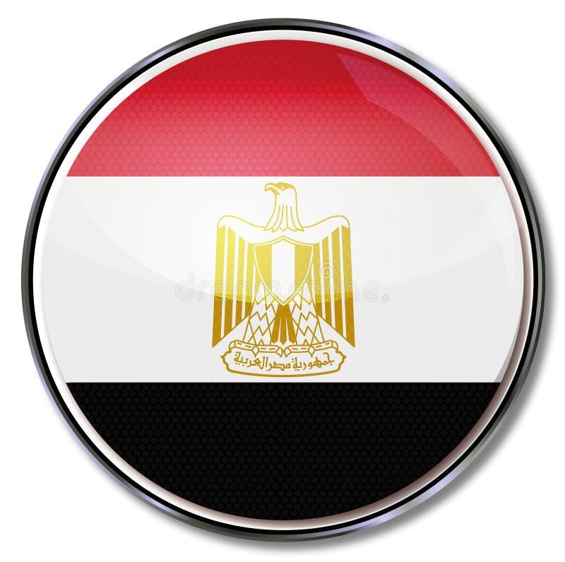 Button of Egypt stock illustration