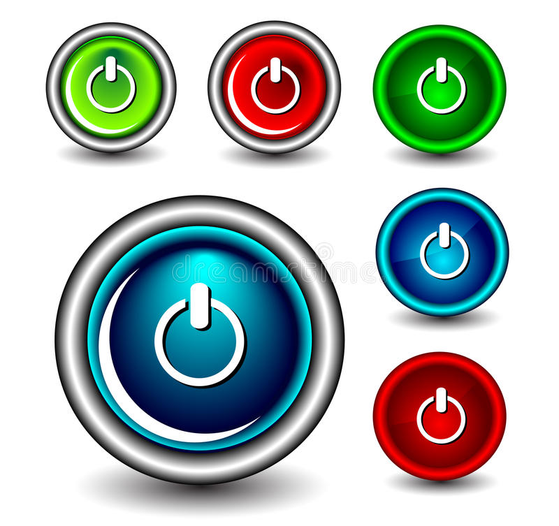 Download Button icon stock illustration. Image of glossy, beautiful - 28633785