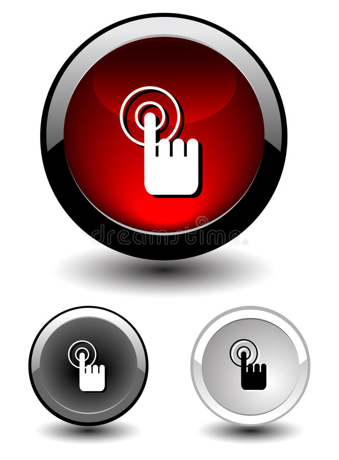 Download Button Icon Stock Photography - Image: 28633832