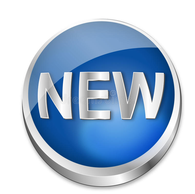 Download Button New Royalty Free Stock Images - Image: 10057399