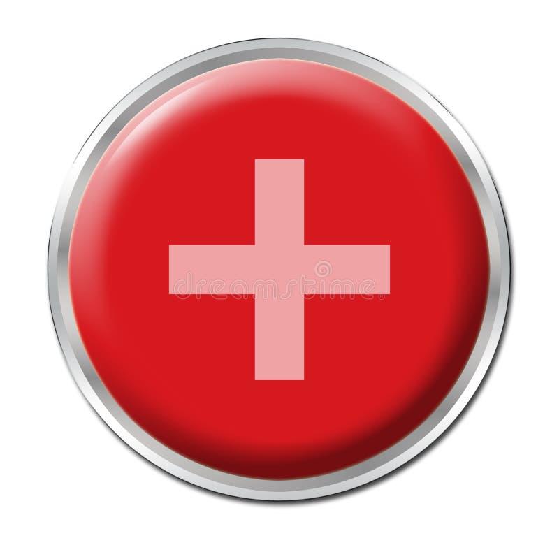 Free Button Plus Royalty Free Stock Photo - 5906115