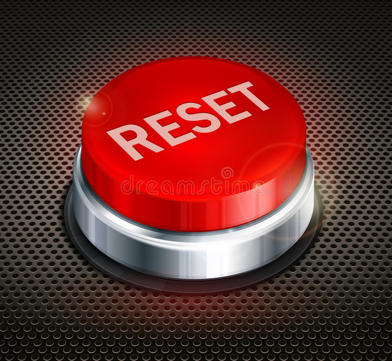 Download Button Reset Stock Photography - Image: 30385982