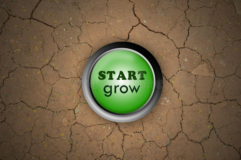 Download Button start grow stock illustration. Illustration of pattern - 21646387