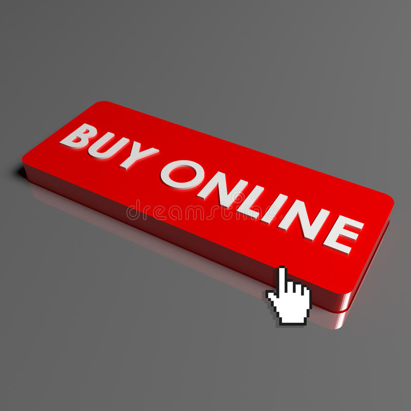 button to buy online royalty free stock photos