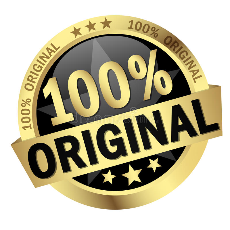 Free Button With Banner 100 Original Stock Photography - 55942272