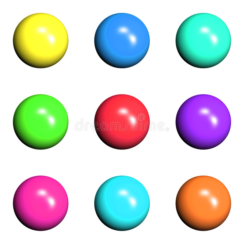 button02 向量例证
