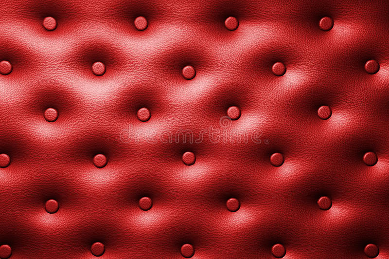 Buttoned Leather Background Stock Photos