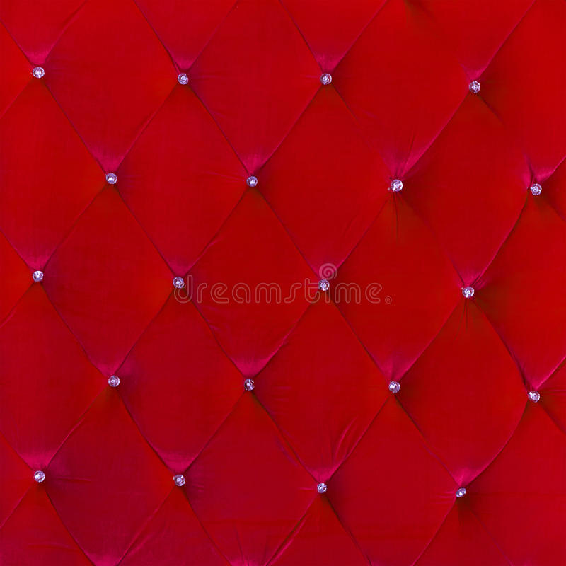 Buttoned on the red Texture stock images