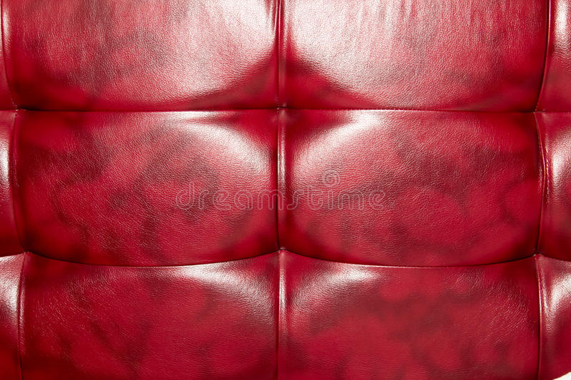 Buttoned on the red Texture. Repeat pattern royalty free stock photo